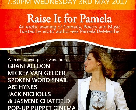 Raise it for Pamela SMALL
